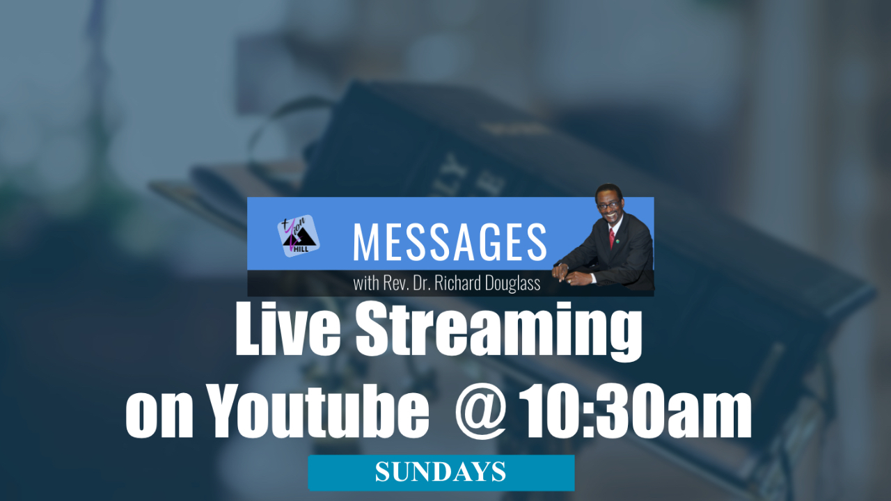 Livestreaming Sundays  | 10:30am Via Youtube